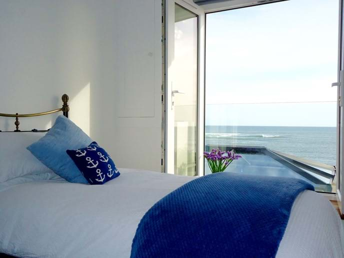 .....and the same spectacular sea view as the master bedroom
