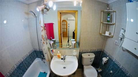 Holiday apartment - bathroom
