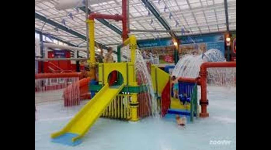 Indoor pool play area