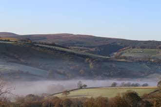 Misty morning over the Goyt Valley