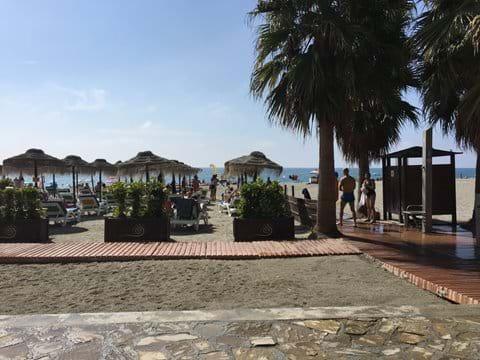 Burriana Beach - Nerja