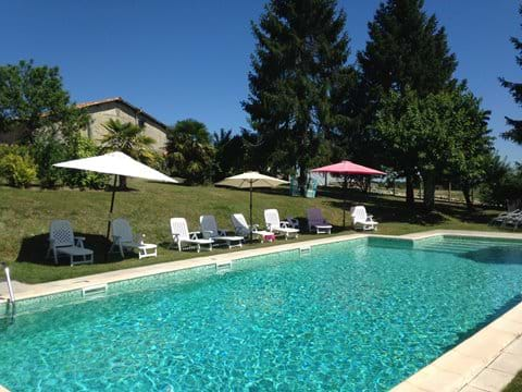 Outstanding, full-depth, in-ground 12x6m pool with great views over the countryside