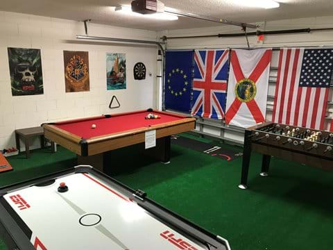 Fabulous Games Room!