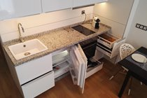 Flly equipped kitchen