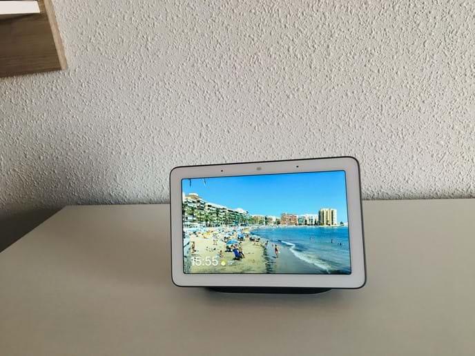 Holiday apartment - Google Home Hub