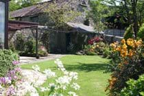 The lovely cottage garden is fully enclosed making it safe for small children and pets.