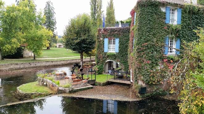 Moulin  de L'abbeye, Michelin Star restaurant, Brantome