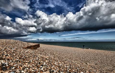 The beach at Weybourne
