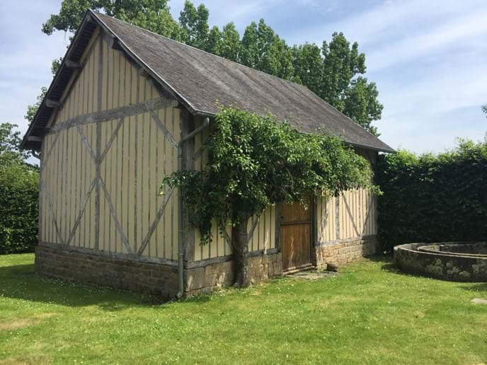The Cider Press, Boudet, Barenton, Normandy - a romantic bolt hole in the heart of the countryside
