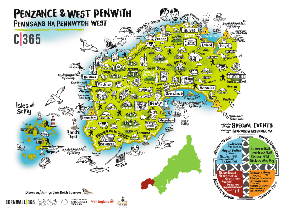 Penwith Map