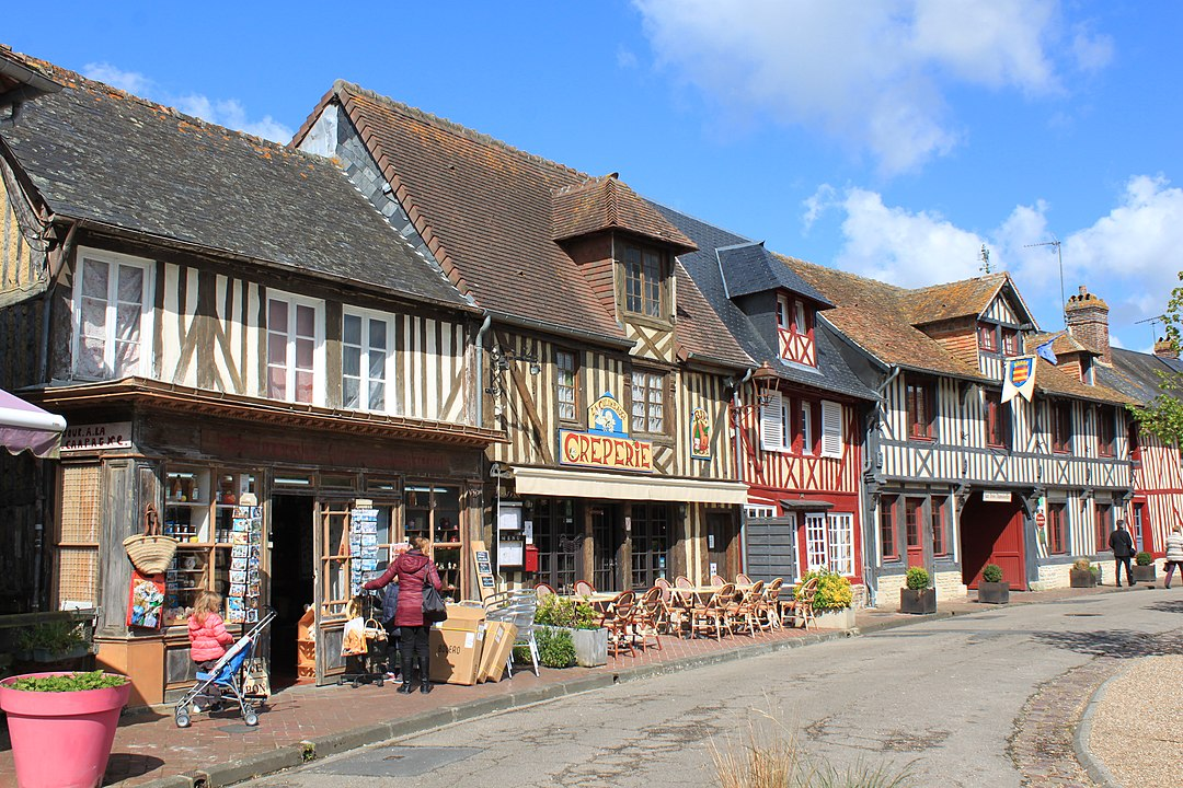 Beuvon-en-Auge, un plus beau village en Normandie