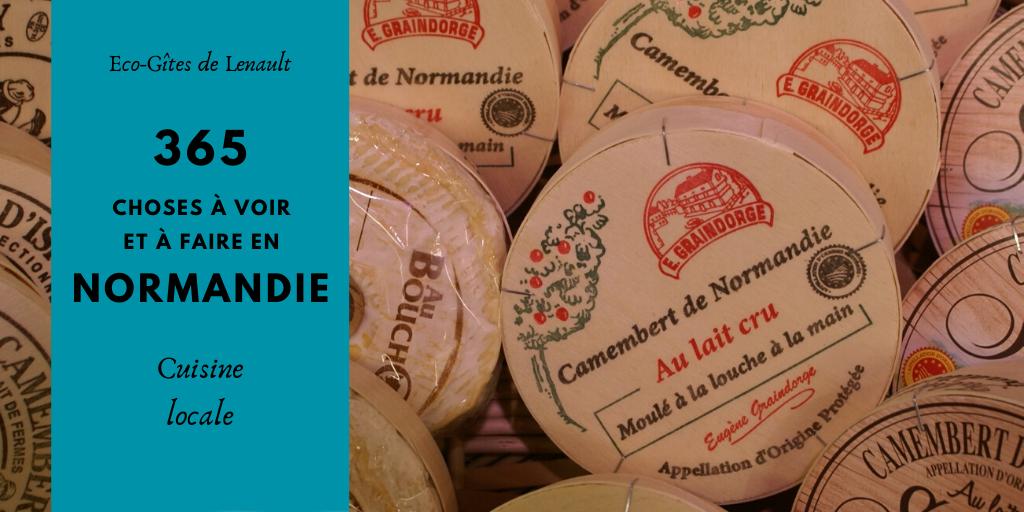 7 Normandy foods to enjoy - 7 plats normands