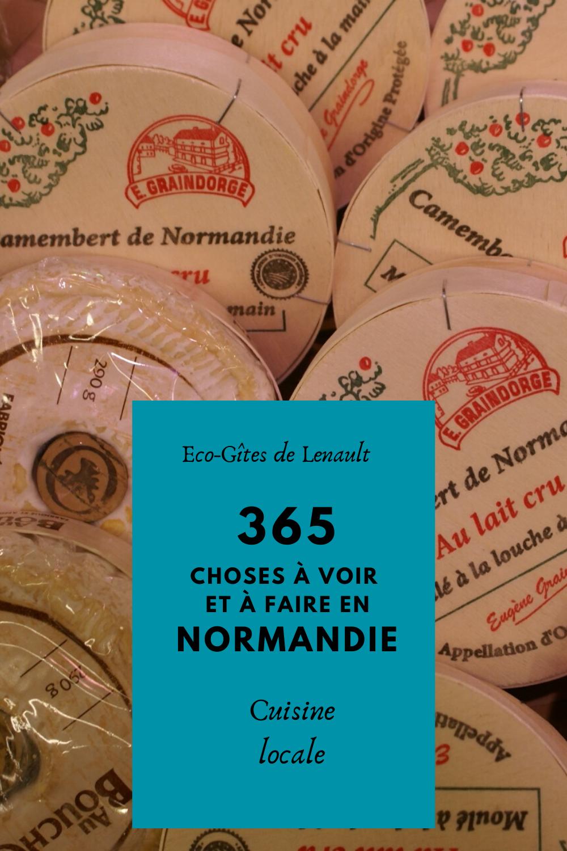 Les plats Normands