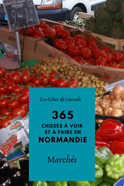 Les marchés de Normandie
