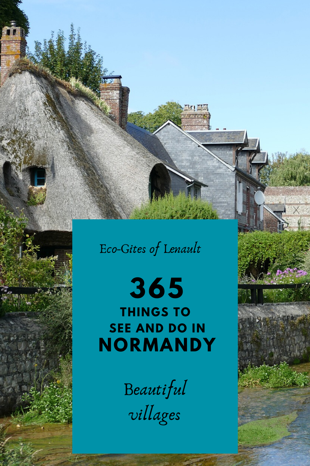 Normandy'd most beautiful villages