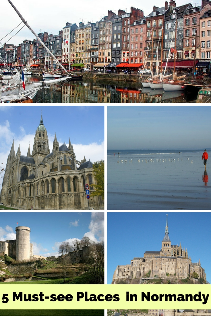 5 must see places in  Normandy, France