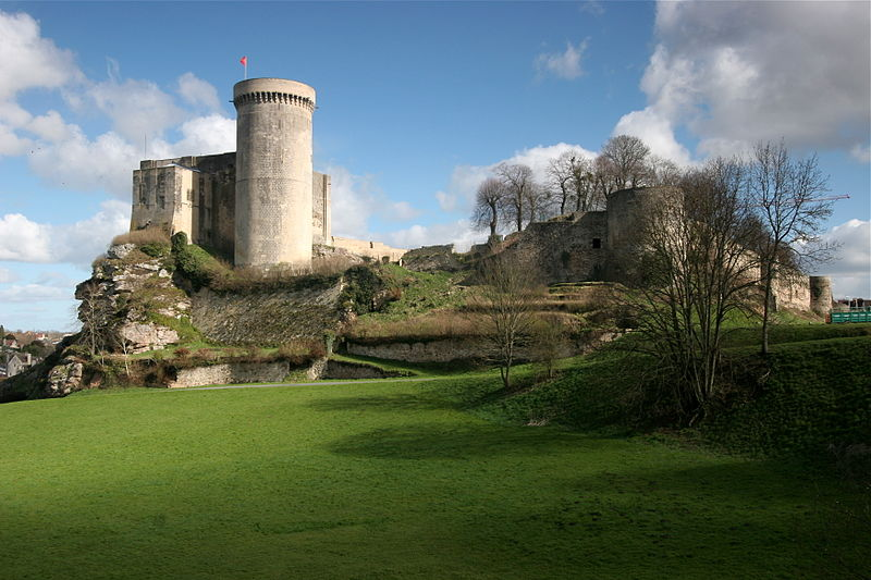 Falaise Castle, Normandy