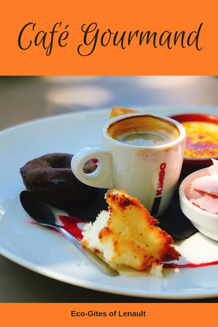 Café Gourmand: the perfect dessert for someone who wants everything off the dessert menu