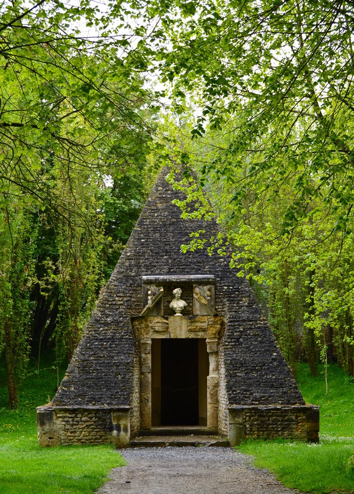 Ice house at the Chateau de Vendeuvre, Normandy, France