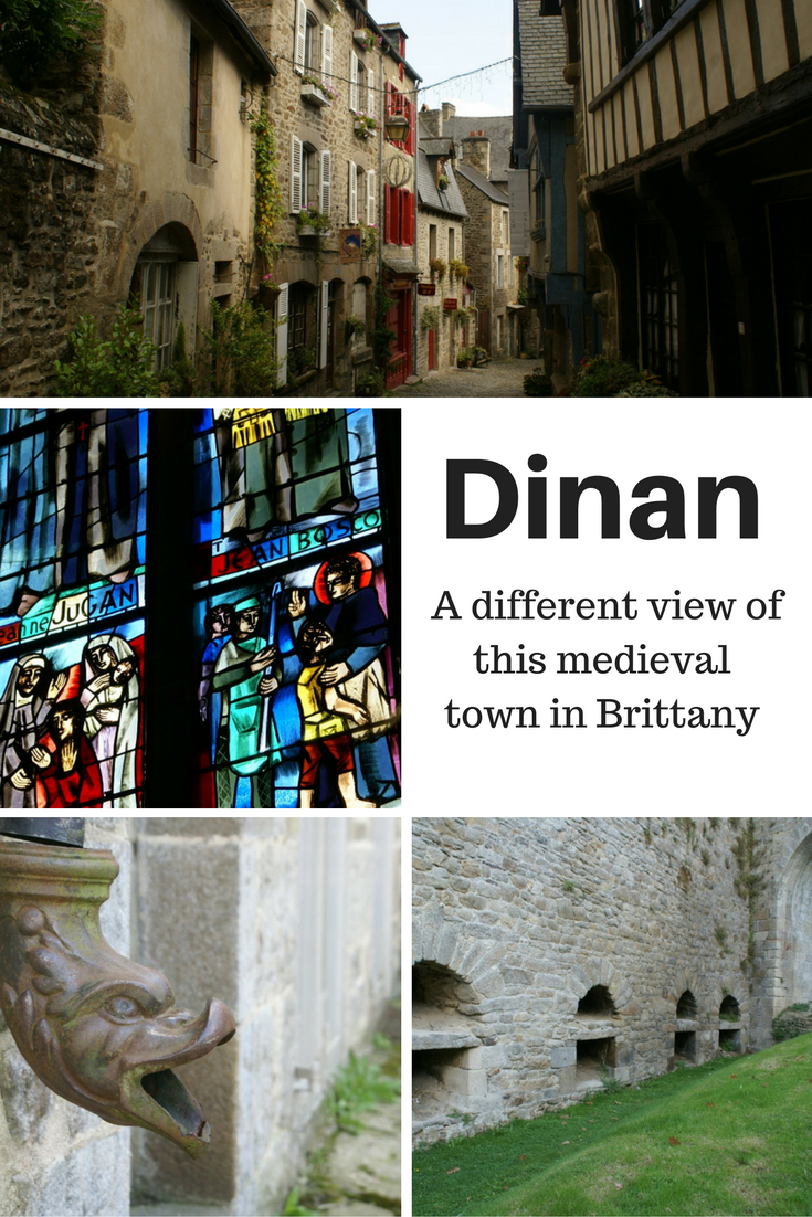 Dinan - a medieval town in Brittany
