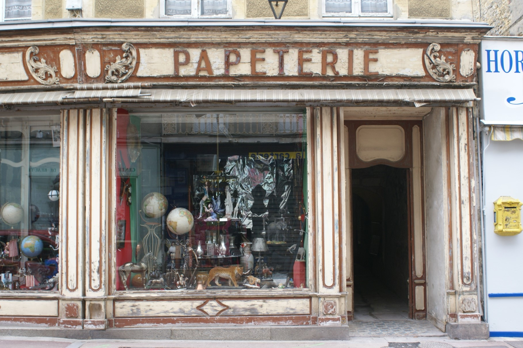 Shop front  in Bayeux, Normandy