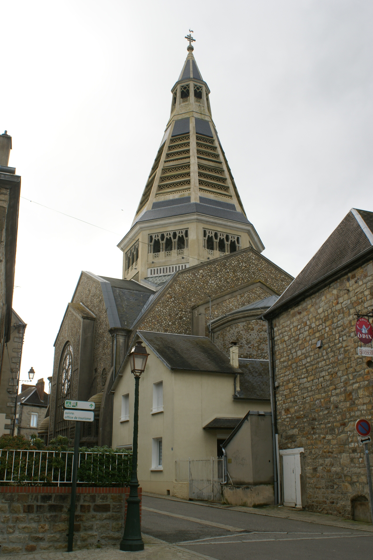 Church of St Julien, Domfront,Normandy