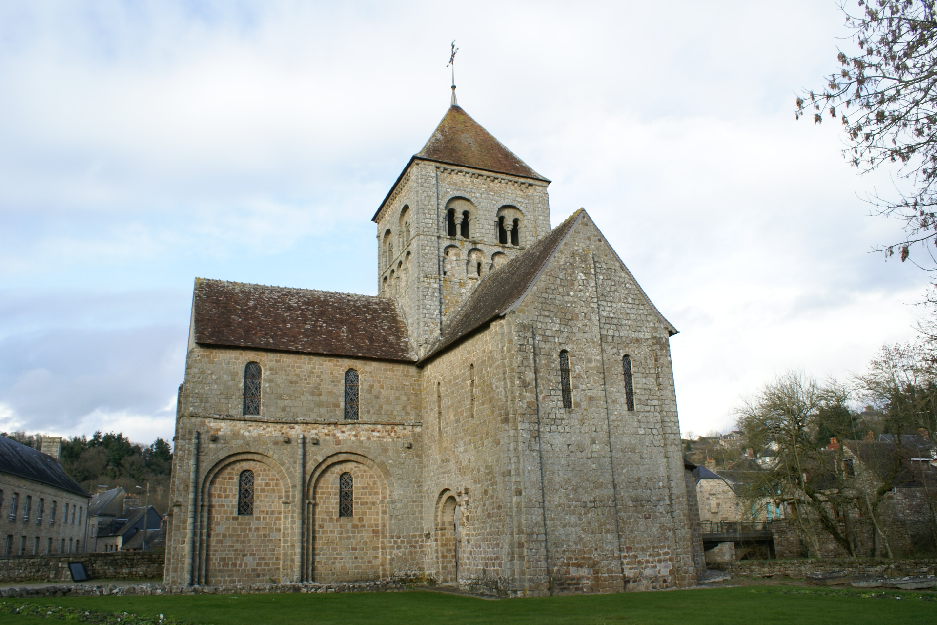 Chjurch of Notre-Dame, Domfront, Normandy