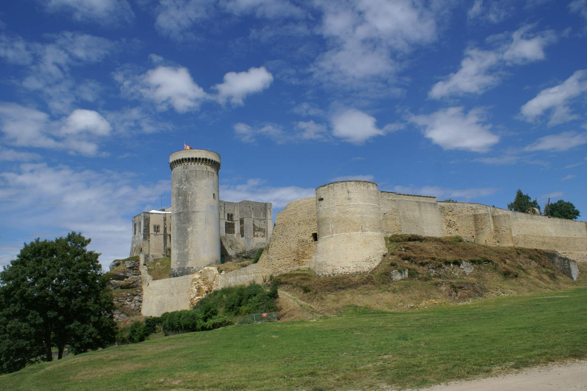 Falaise Castle, Normandy, France