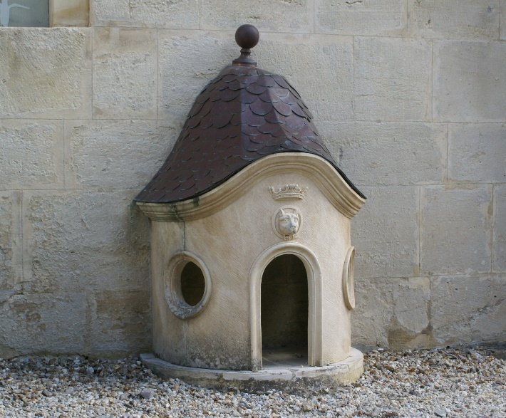 Dog Kennel at The Château de Vendeuvre, Normandy, France