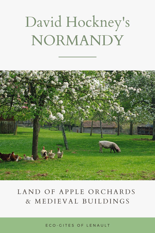 David Hockney's Normandy