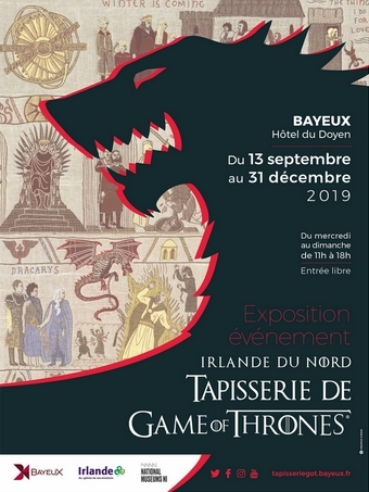 The Game of Thrones Tapestry is coming to Bayeux