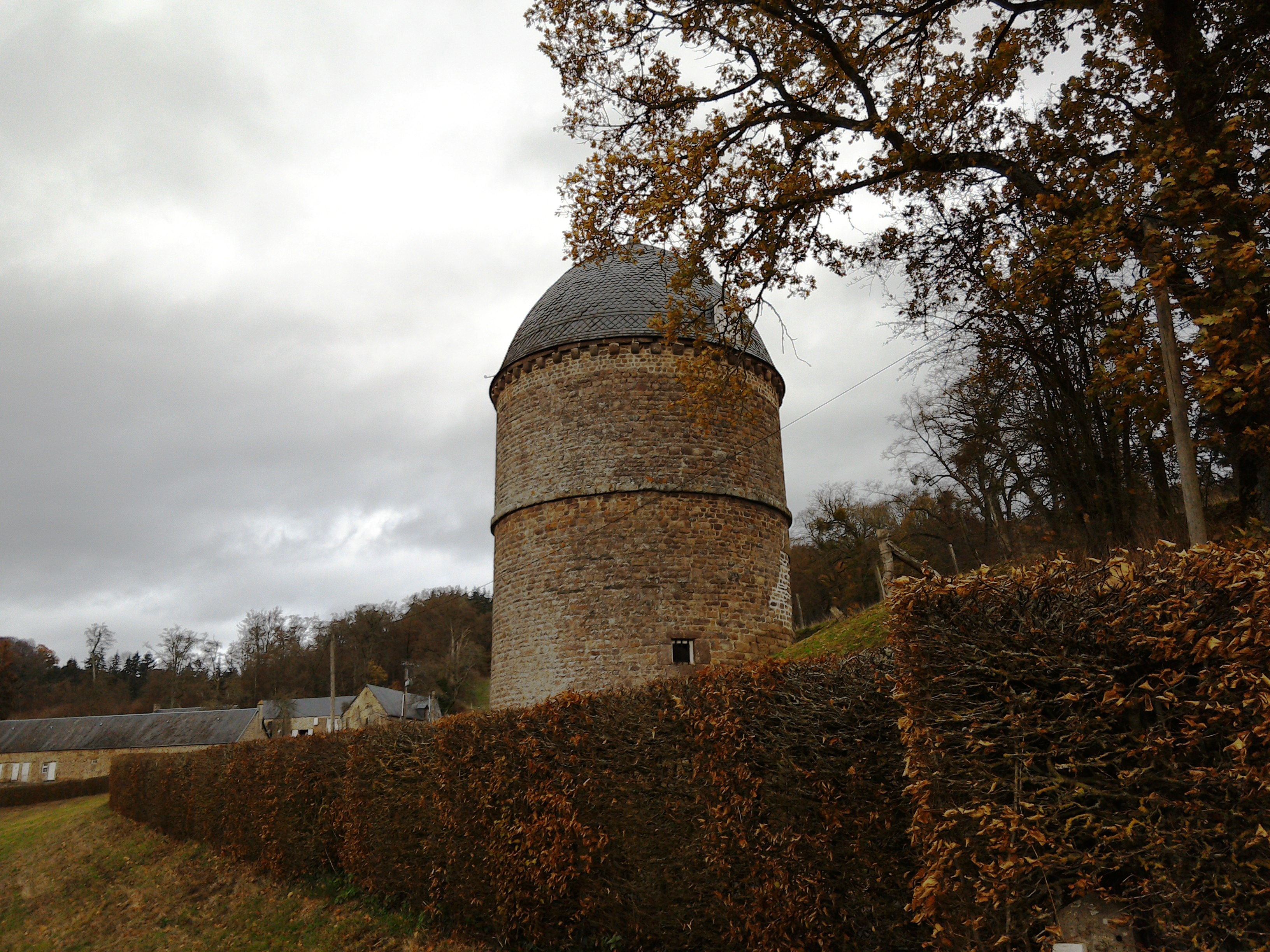 Dovecote at Pontécoulant, Normandy