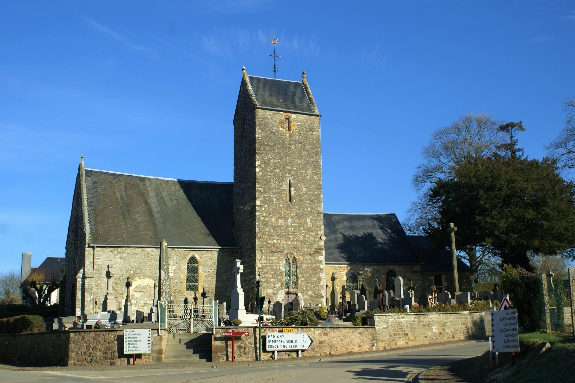 Lenault church - L'Eglise de Lénault
