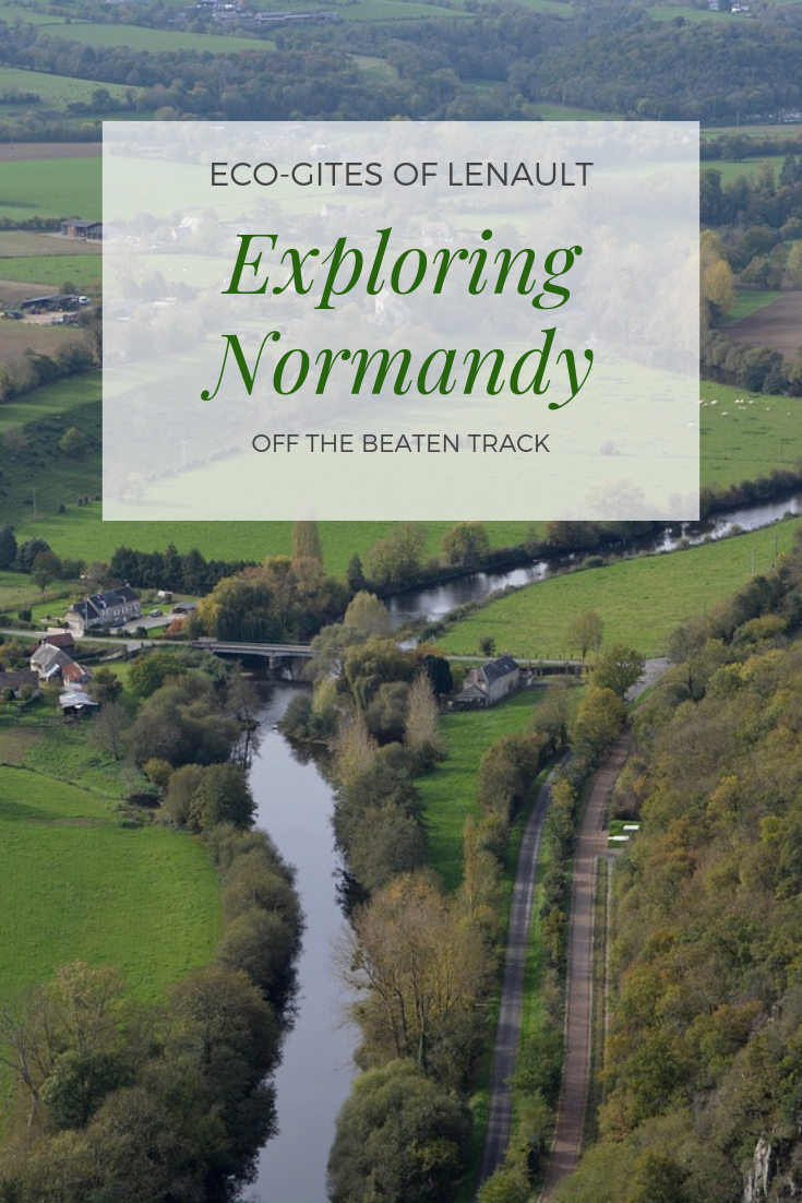 Exporing Normandy off the beaten track