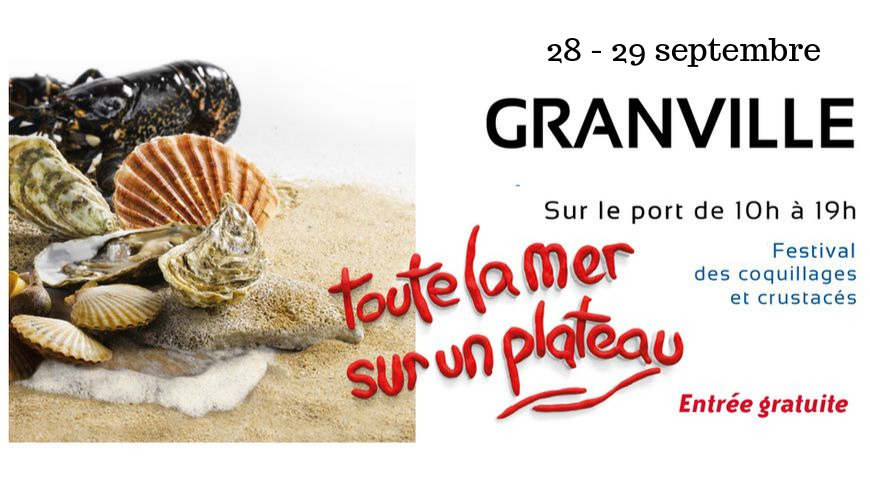 Seafood Festival at Granville, Normandy
