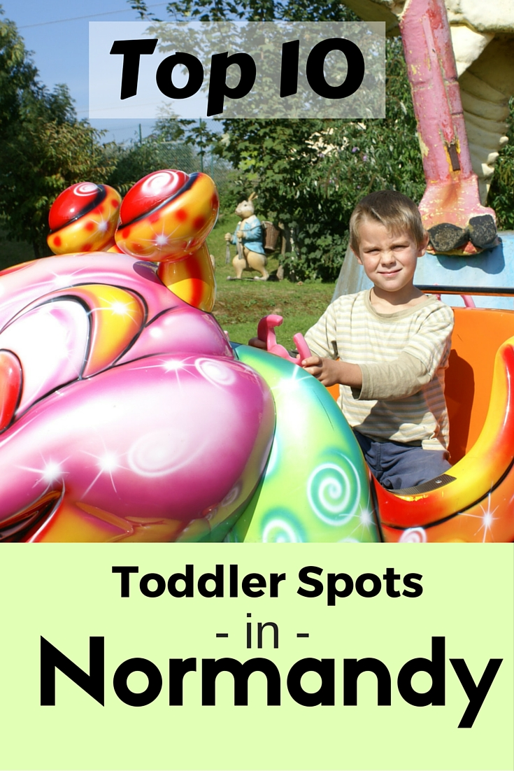 Top 10 Toddlers Spots in Normandy