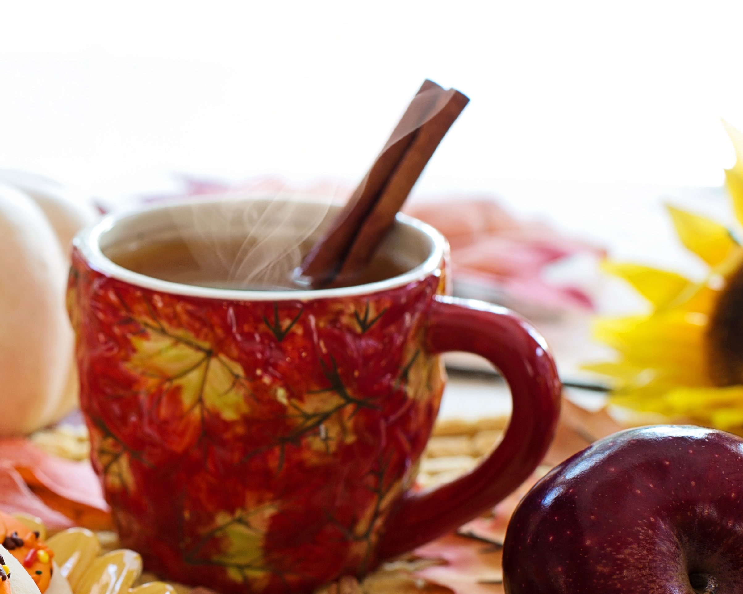 Mulled cider - cidre chaud