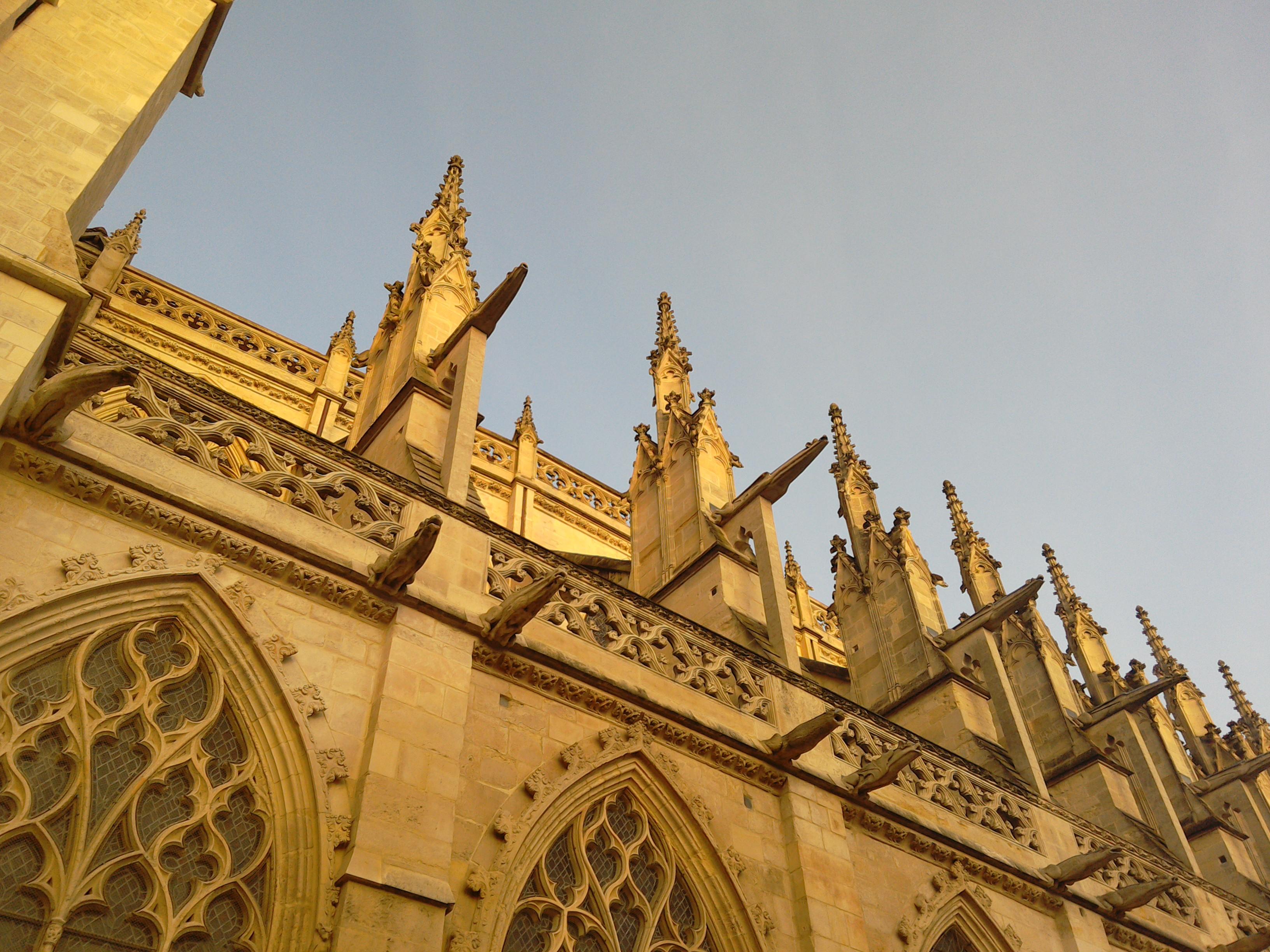 Church de Saint-Pierre, Caen, Normandie