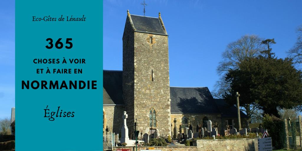 Les églises de Normandie