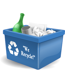 Recycling at Eco-Gites of Lenault