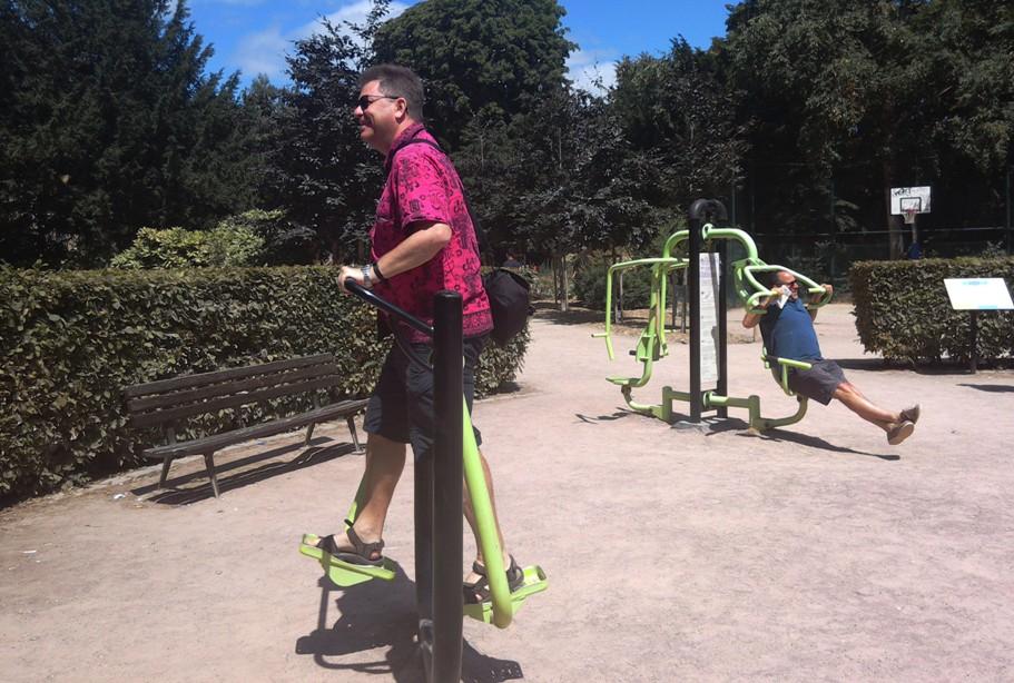 OUtdoor Gym in Rouen, Normandy