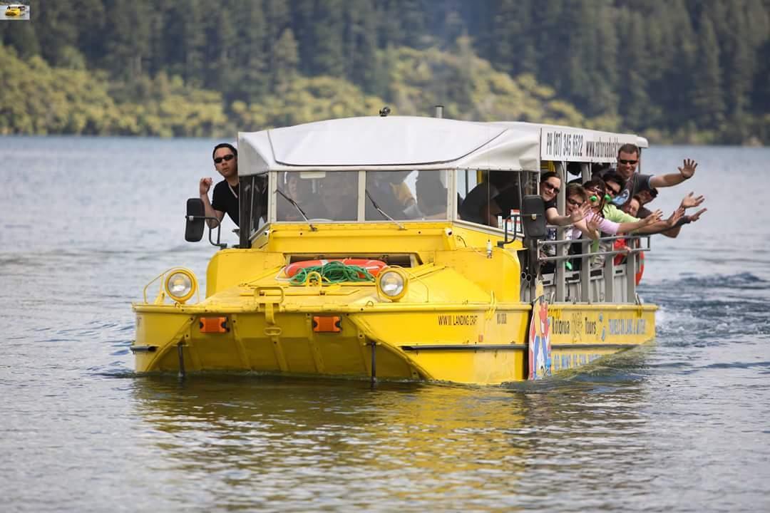 Duck Tours Rotorua Lakes
