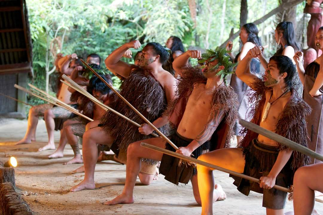 Haka at Mitai Maori