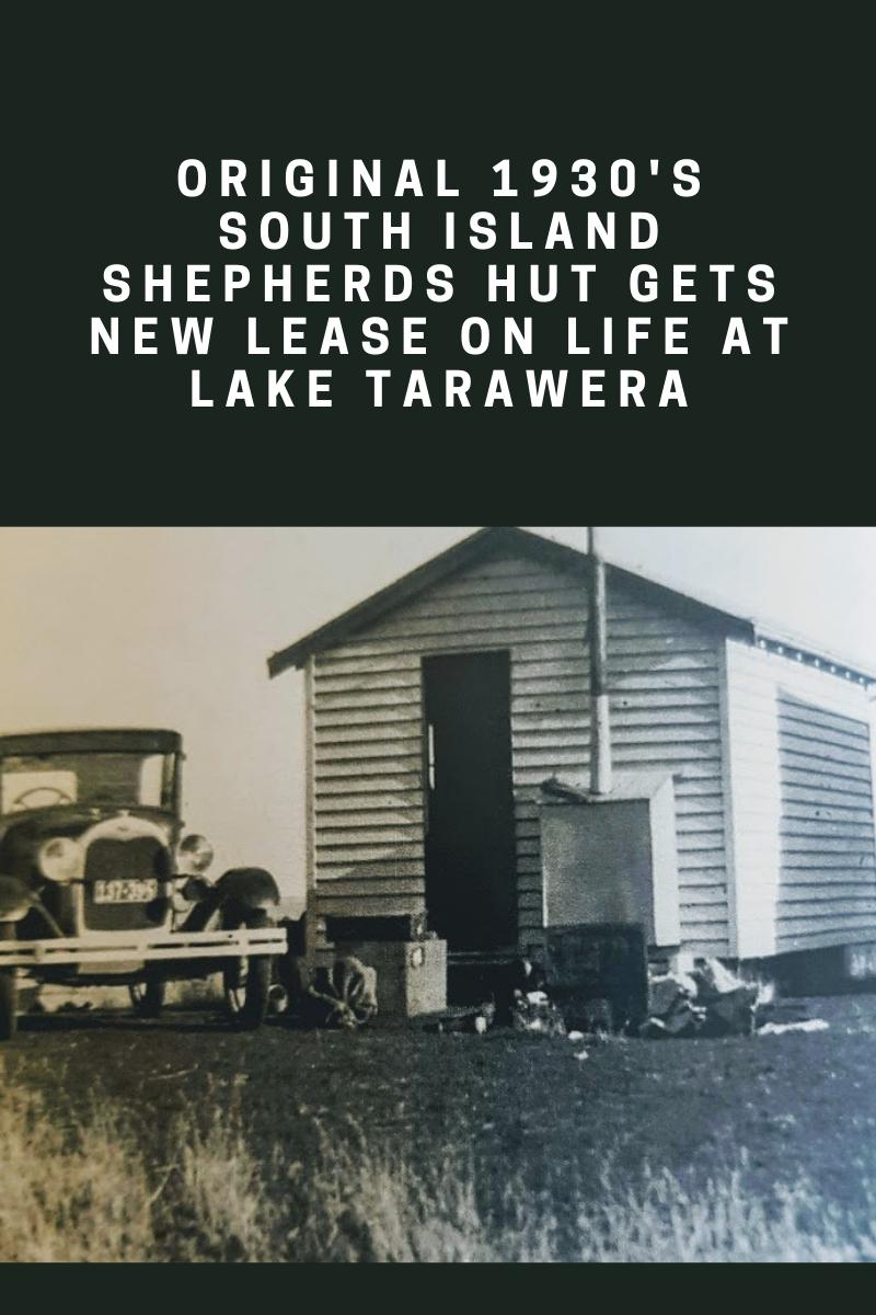 South island shepherds hut lake tarawera