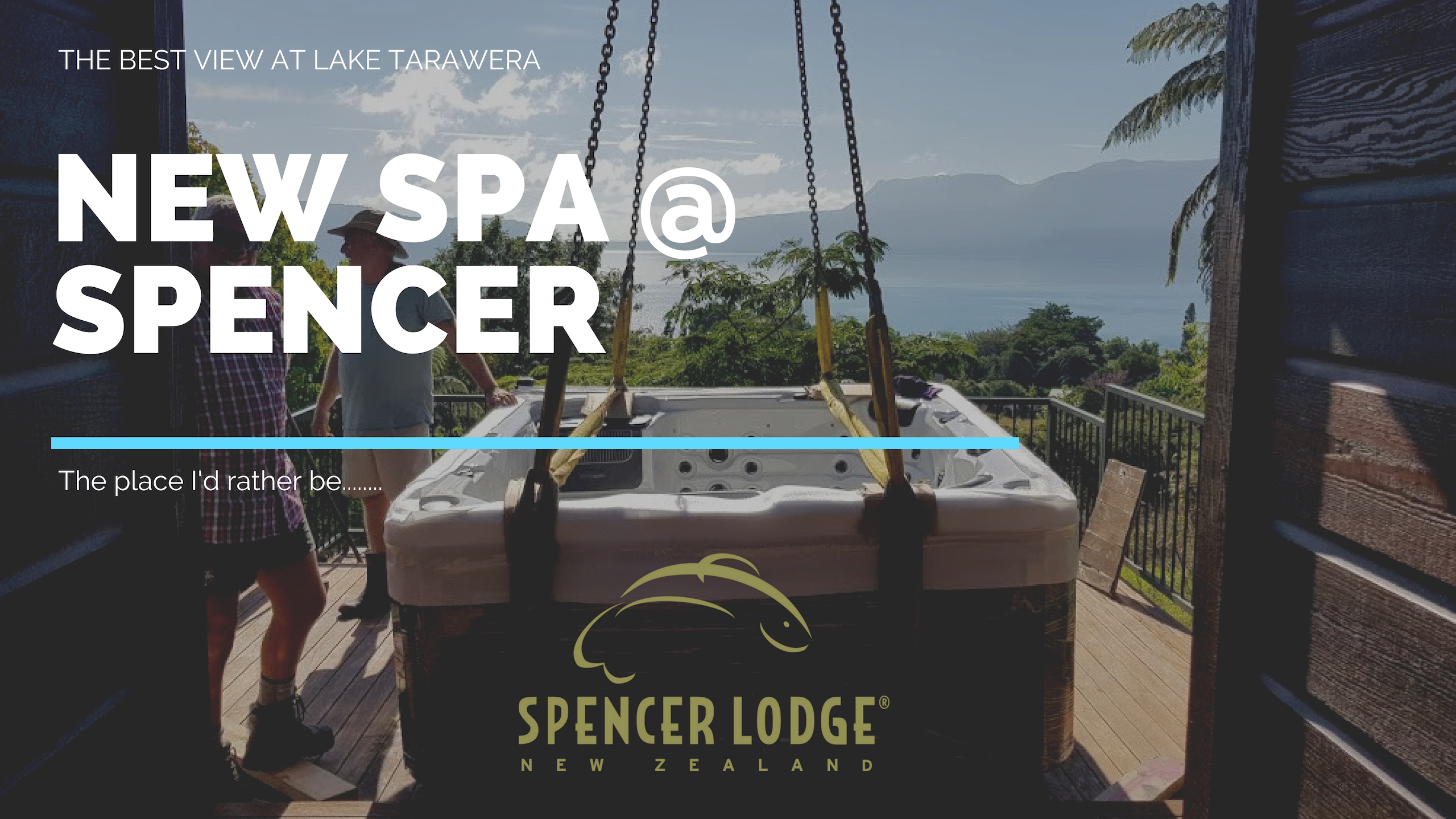Spa delivery January 2019