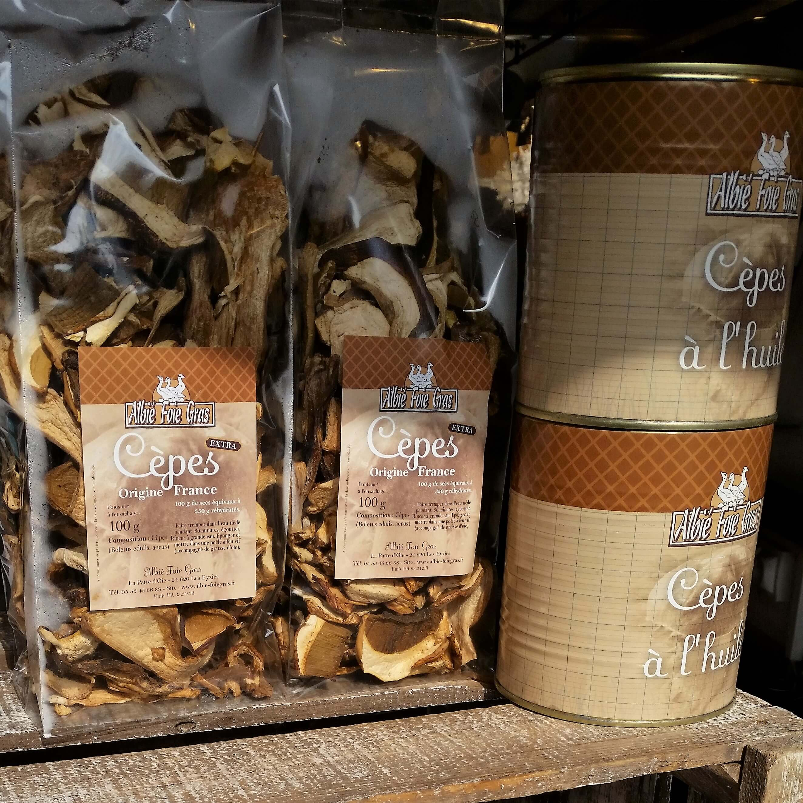 Dried Cepes