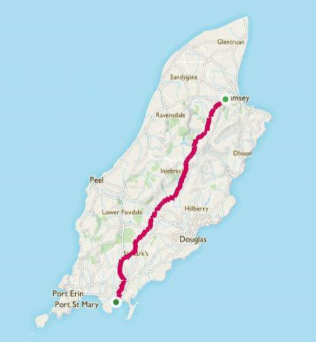 Millenium Way map