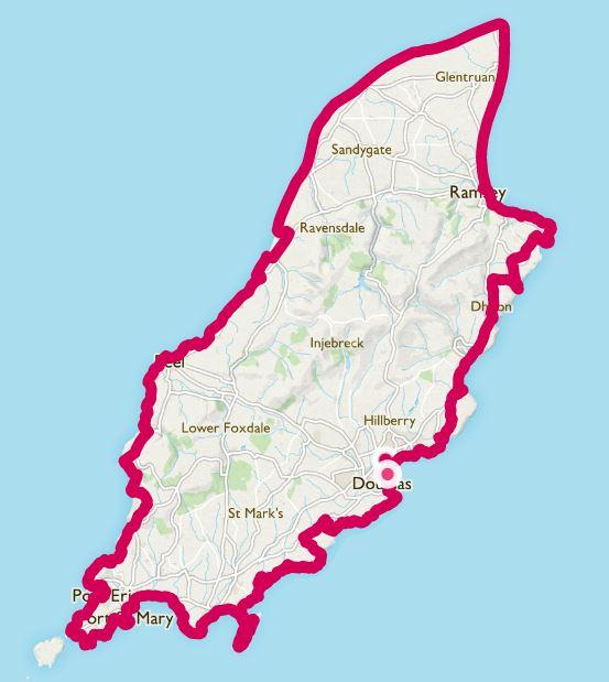Raad ny Foillan map