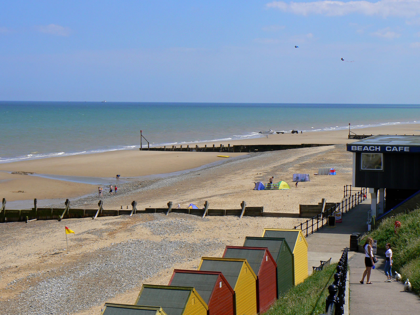 Mundesley beach cafe