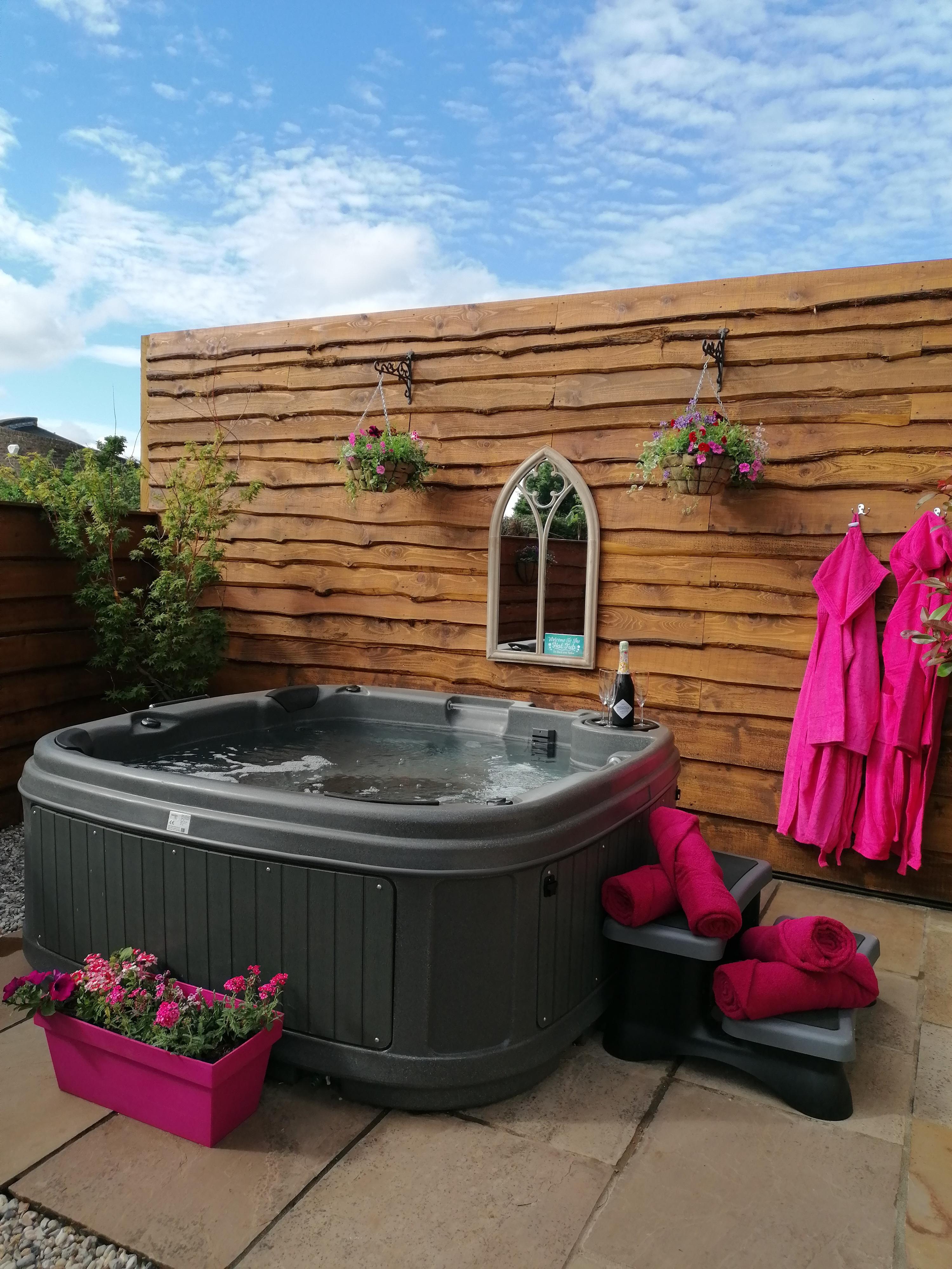 Hot tub's ready!